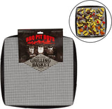 BBQ Pit Boys Grilling Mesh Basket - Reusable, Non-Stick, Grilling Mat for Barbecues