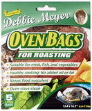 3 pack Debbie Meyer Oven Bags for Roasting - 2 Giant, 5 Large, 8 Medium