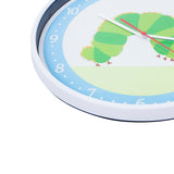 "Wildkin The Very Hungry Caterpillar Kids Wall Clock 12"" Diameter"