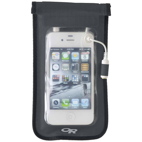 Outdoor Research Sensor Dry Waterproof Smartphone Pocket, Charcoal