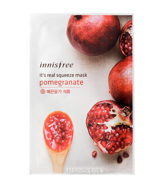 Innisfree It's real squeeze mask Pomegranate  20ml