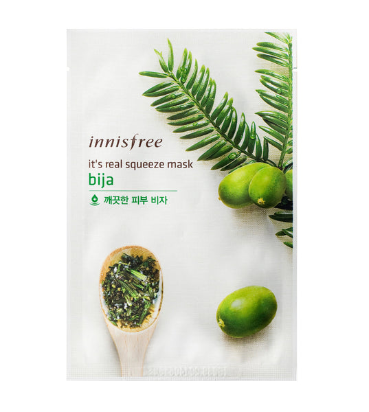 Innisfree it's real squeeze mask bija 20ml