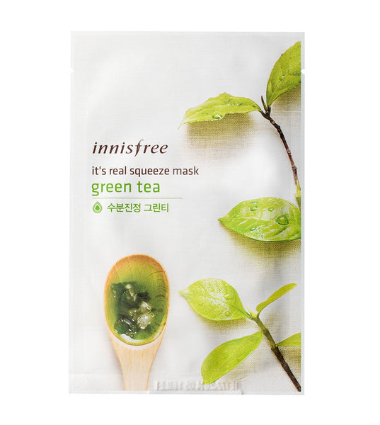 Innisfree It's real squeeze mask Greentea 20ml