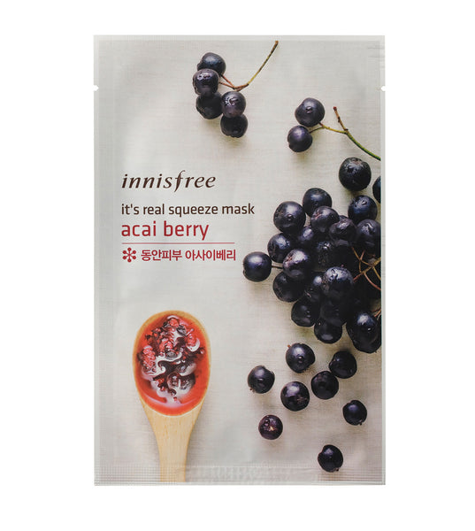 Innisfree It's Real Squeeze Mask Acai Berry 20ml