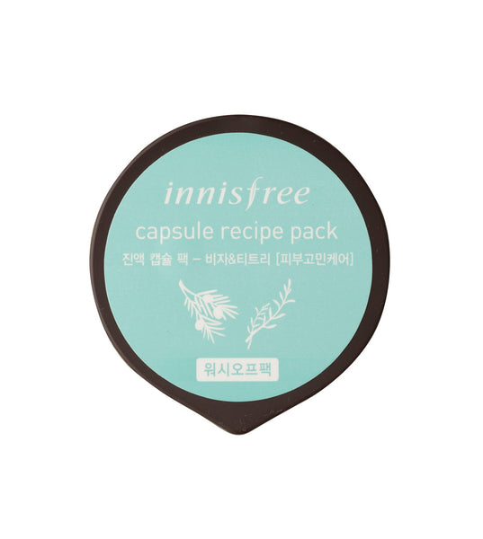 Innisfree Capsule Recipe pack Bija and Tea tree(2016)
