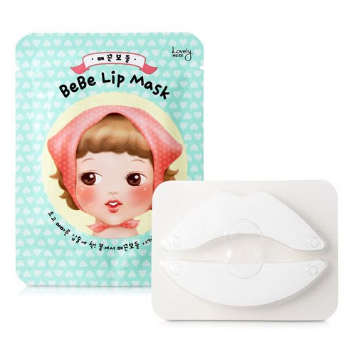 The Face Shop Lovely meex Lip care bebe lip mask