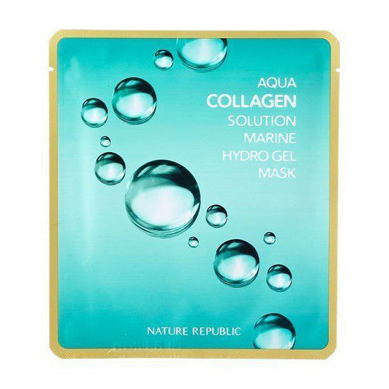 NATURE REPUBLIC Aqua Collagen solution Hydrogel Mask