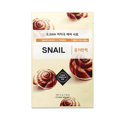 Etude House 0.2mm Therapy Air Mask #Snail
