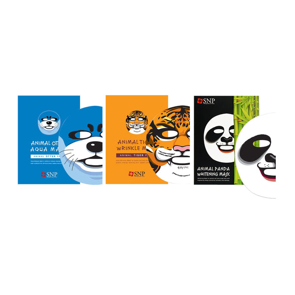 SNP Animal Mask Multi-Pack 3 pcs