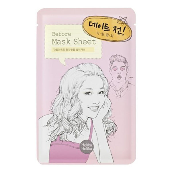 Holika Holika Before & After Mask Sheet - before date