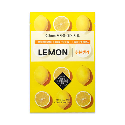 Etude House 0.2mm Therapy Air Mask #Lemon