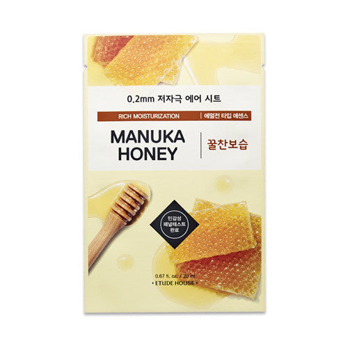 Etude House 0.2mm Therapy Air Mask #Manuka Honey