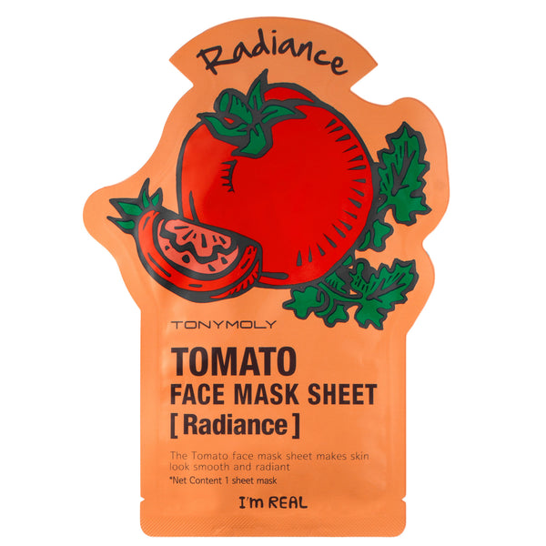 Tonymoly I`m REAL Tomato Mask Sheet Radiance