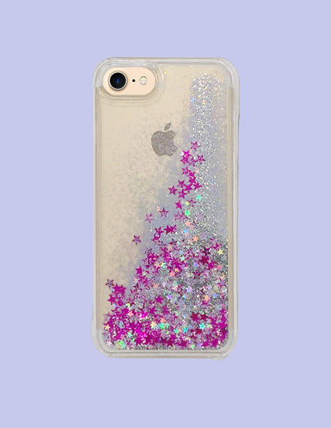 iPhone 7 Case - Glitter Waterfall - Unmanned - 1