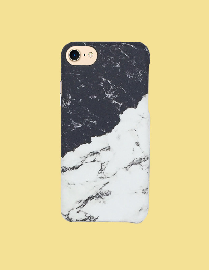 iPhone Case - Marble (Two-Tone) - Unmanned