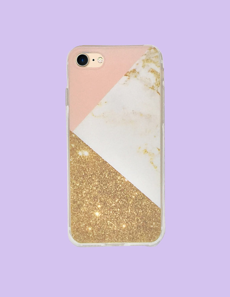 iPhone Case - Marble Print (Color Block) - Unmanned - 7