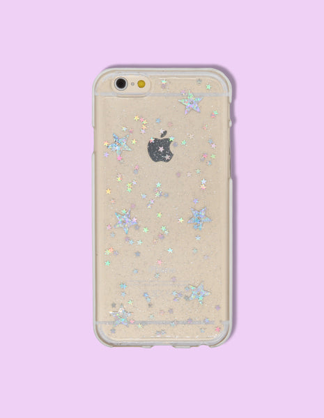 iPhone Case - Holographic Star Print - Unmanned
