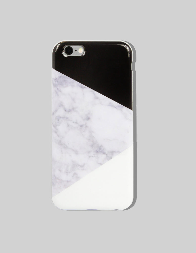 iPhone Case - Marble Print (Color Block) - Unmanned - 5
