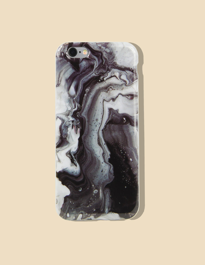iPhone Case - Marble Print (Natural) - Unmanned - 2