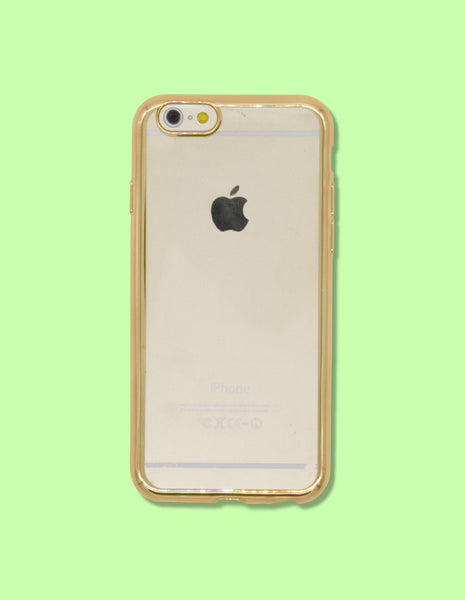iPhone Case - Clear w/ Mirrored Edge - Unmanned - 1