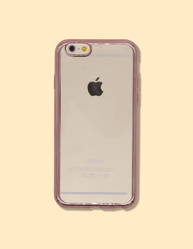 iPhone Case - Clear w/ Mirrored Edge - Unmanned - 4