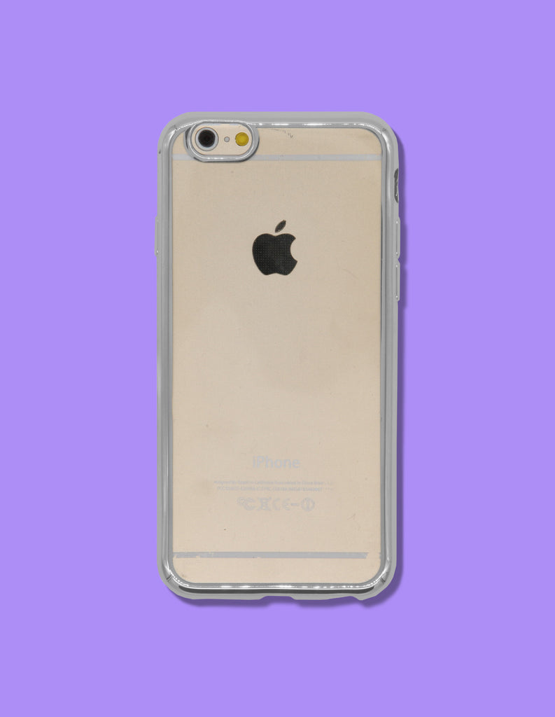 iPhone Case - Clear w/ Mirrored Edge - Unmanned - 2