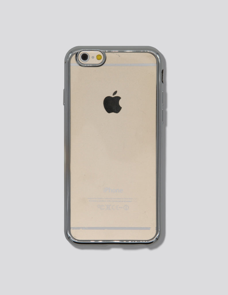 iPhone Case - Clear w/ Mirrored Edge - Unmanned - 3