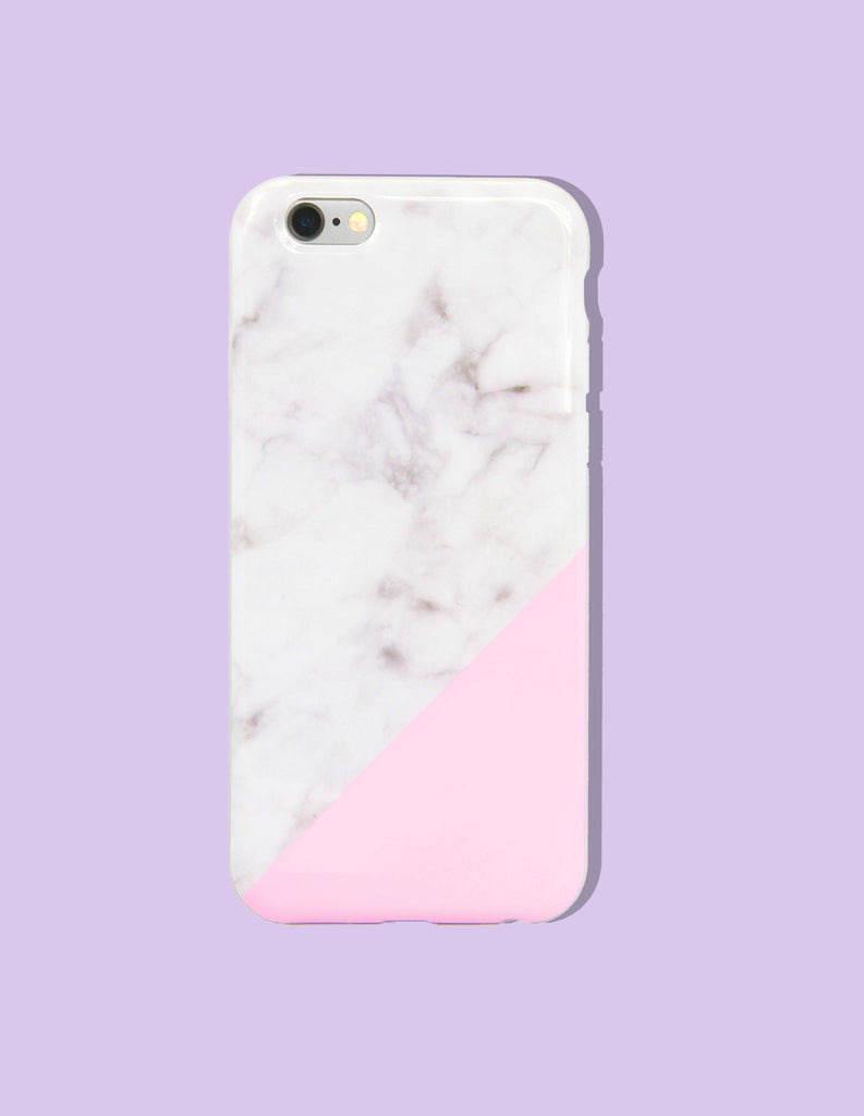 iPhone Case - Marble Print (Color Block) - Unmanned - 4