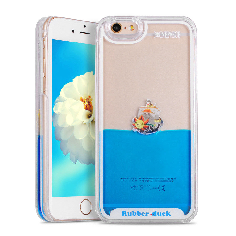 Liquid Swimming Duck Hard Case For 7 and 7 Plus Phone Cases - Unmanned - 2