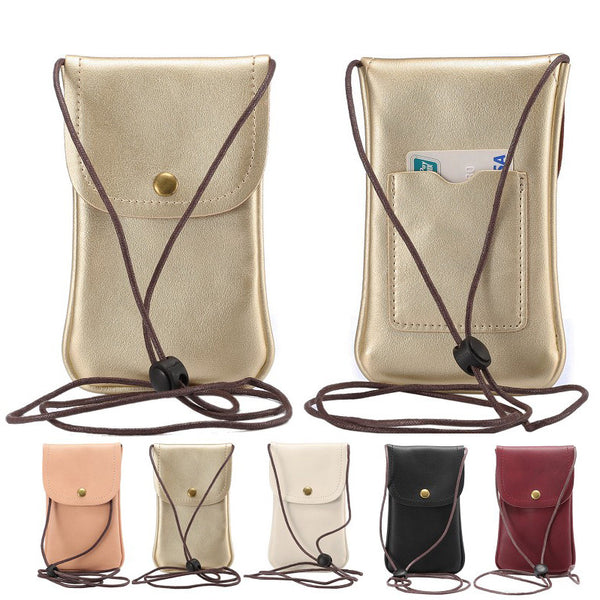 Universal Leather Phone Bag - Unmanned - 1