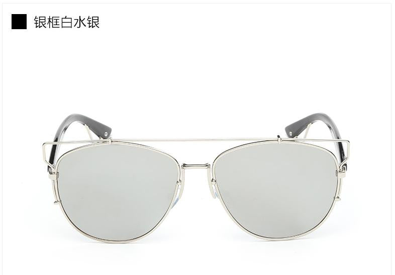 Trim Frame Mirror Sun Glasses - Unmanned - 9