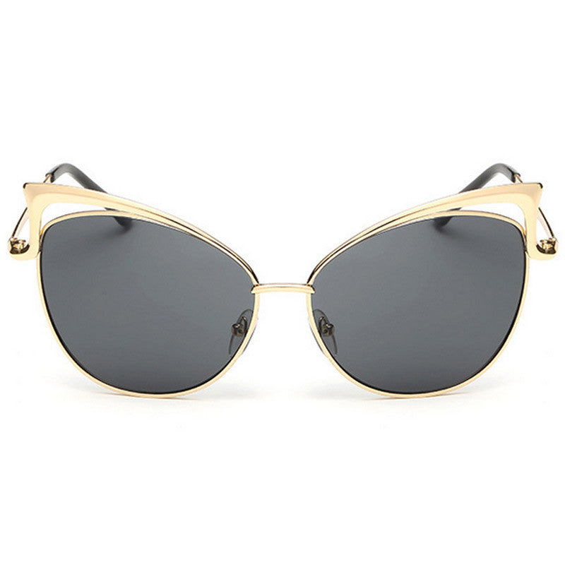 Cut-Out Cat Eye Sunglasses - Unmanned - 9