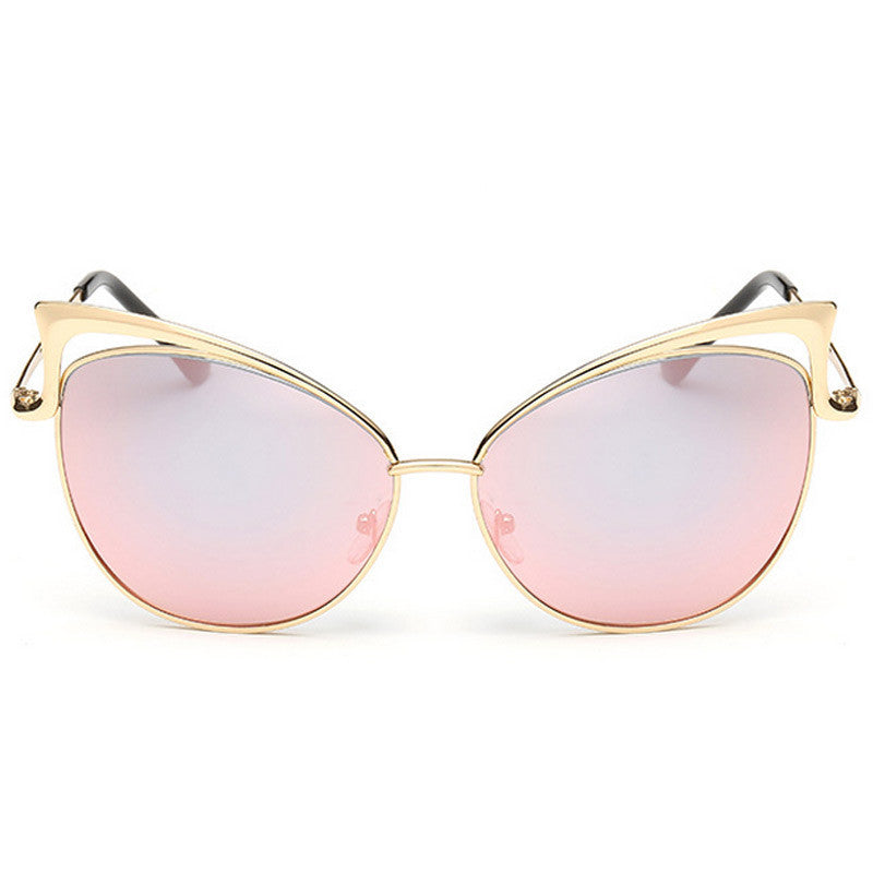 Cut-Out Cat Eye Sunglasses - Unmanned - 4