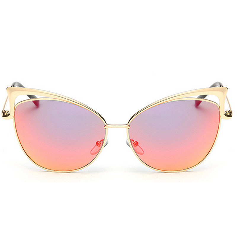 Cut-Out Cat Eye Sunglasses - Unmanned - 10
