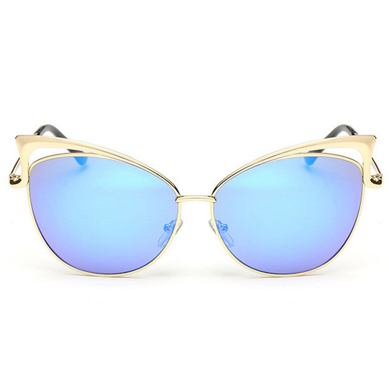 Cut-Out Cat Eye Sunglasses - Unmanned - 8