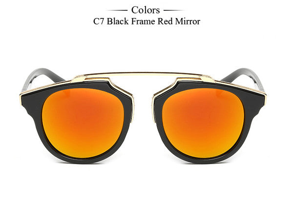 Trim Frame Cat Eye Sunglasses - Unmanned - 11