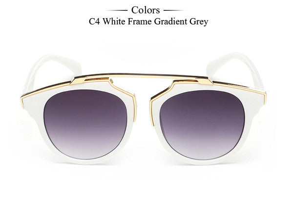 Trim Frame Cat Eye Sunglasses - Unmanned - 6