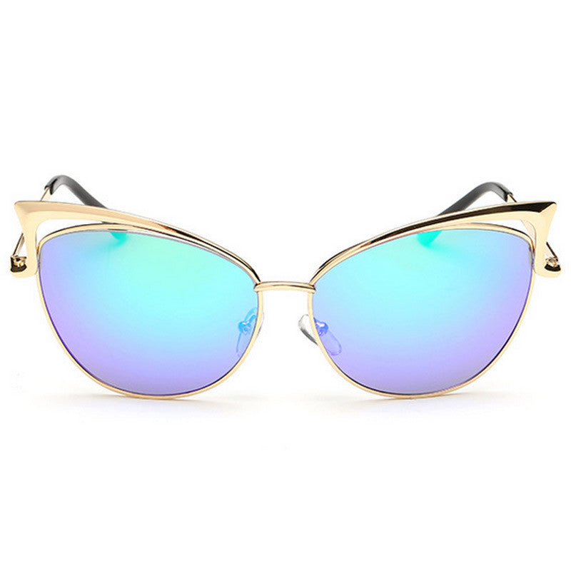 Cut-Out Cat Eye Sunglasses - Unmanned - 12