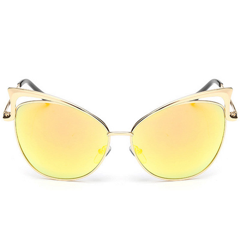 Cut-Out Cat Eye Sunglasses - Unmanned - 6