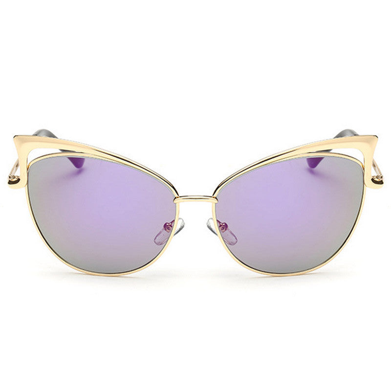 Cut-Out Cat Eye Sunglasses - Unmanned - 3
