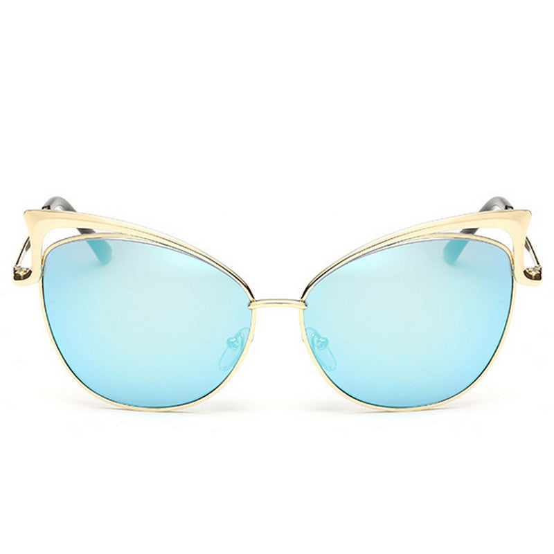 Cut-Out Cat Eye Sunglasses - Unmanned - 7