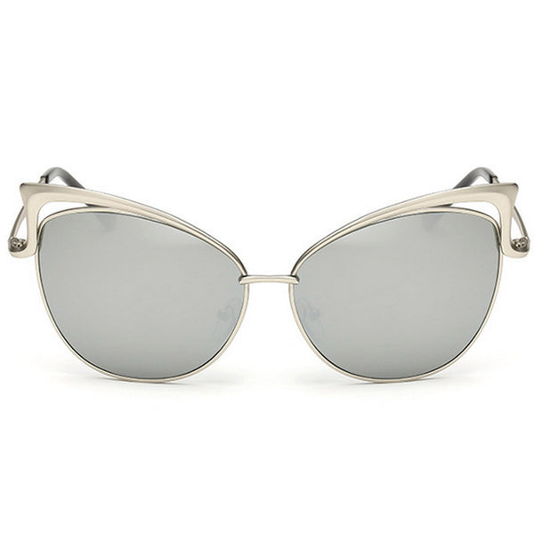 Cut-Out Cat Eye Sunglasses - Unmanned - 1