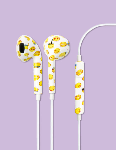 Earbud Headphones - Emoji - Unmanned