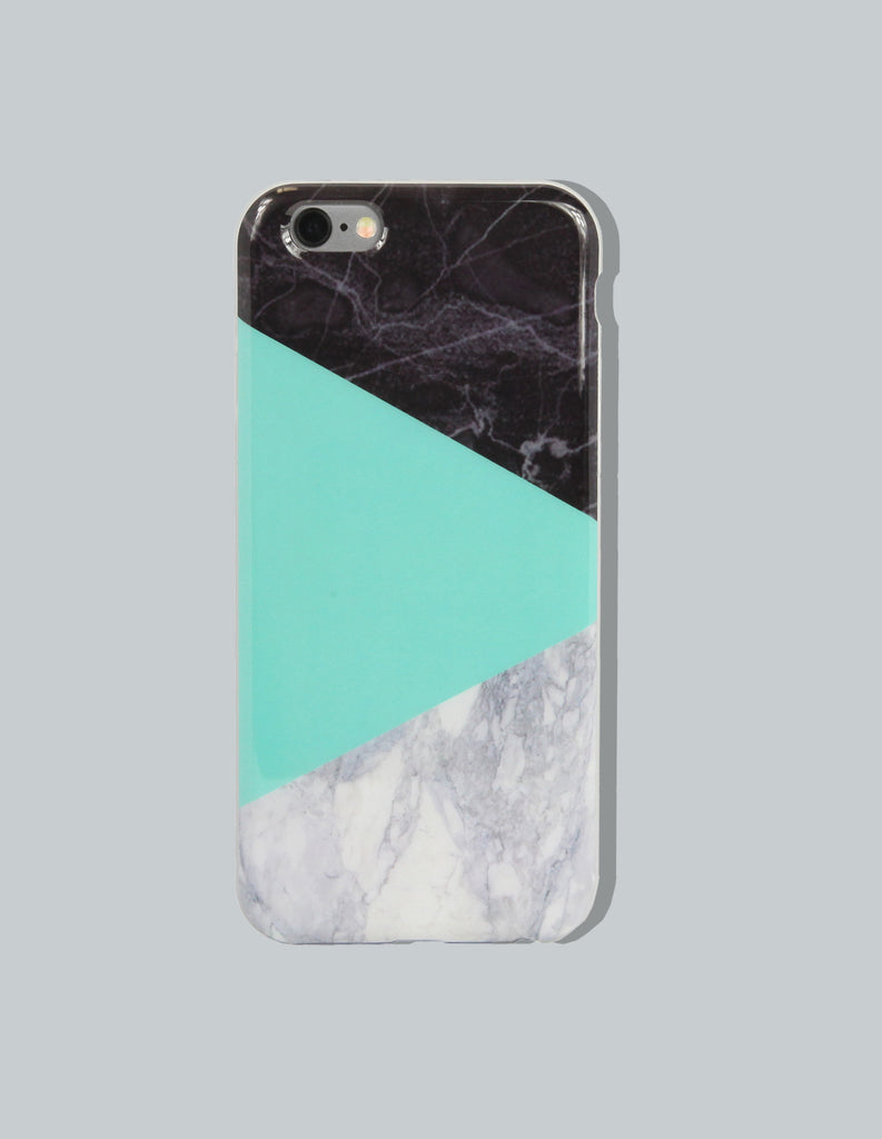 iPhone Case - Marble Print (Color Block) - Unmanned - 2