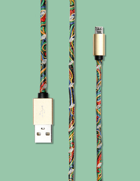 Micro USB - Tribal Print - Unmanned