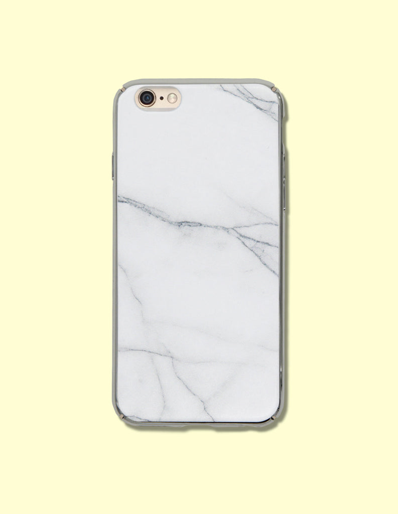 iPhone Case - Marble Print (Hardshell) - Unmanned - 1