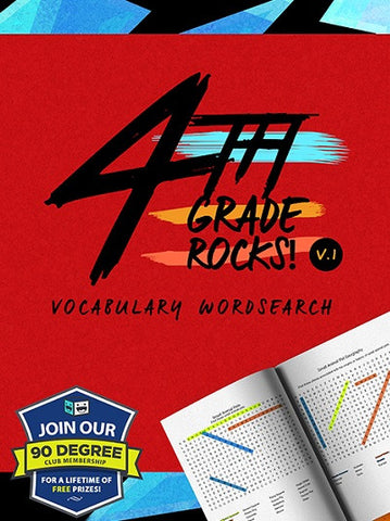 4th Grade Rocks: Vocabulary Wordsearch