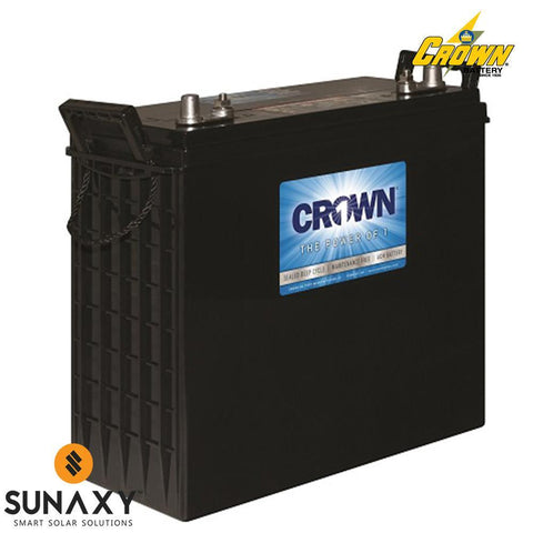 Crown: Battery, 12V, 230Ah at C/20, AGM, Crown 12CRV230