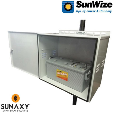 SunWize: M1-8D Enclosure, Powder Coat