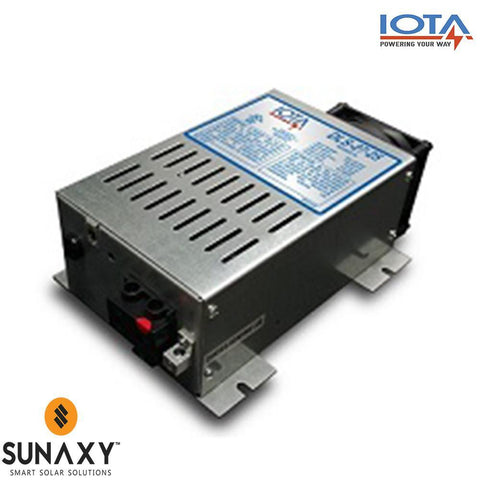 Iota: AC Battery Charger, 25A, 108-132VAC, 24VDC,IOT DLS-27-25